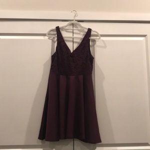 Plum dress 💜